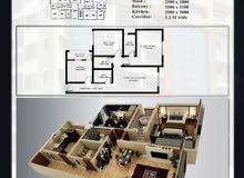 إنتبه هنا فرصة رائعة للبيع شقة 3 غرف 106م بالقرم اقساط لمدة سنتين
