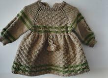 فستان اطفال صوفي