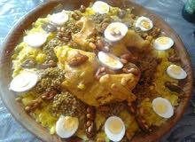 حلويات وطبخات مغربية اصيلة حسب الطلب
