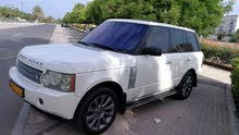 White Land Rover Range Rover Vogue 2008 for sale
