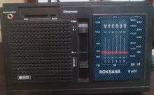 راديو موديل 1985  ROKSANA   قديم بولندا الثمن 270 د.ل