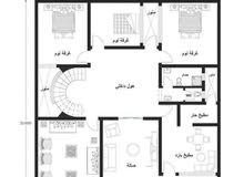 خرائط منازل عراقية 200 متر