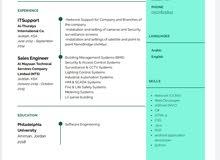 مهندس شبكات ومبرمج / Network & Software engineer