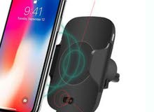 Automatic Infrared Sensing Car Wireless Charging For iPhone &For Samsung