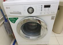 LG fully automatic washing machine/ 4 door wardrobe for sale