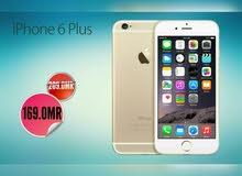 IPHONE 6 PLUS ذاكرة 64 جيجا مع 5 جوائز و ضمان بسعر مميز