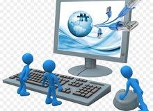 عمل صيانة وتركيب شبكات الكمبيوتر واجهزة البصمة للشركات والافراد