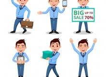 مطلوب موظفين مبيعات  شركة رائدة في مجال الهواتف الذكية واكسسواراتها