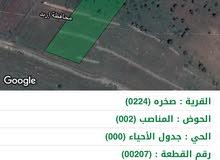 مزرعه للبيع في عجلون / صخره