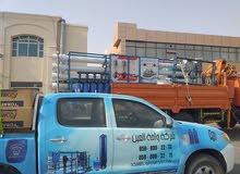 محطات تحلية مياه و بيوت بلاستيكية