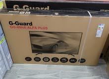 شاشات G-Guard حجم 49 بوصة فقط (195) دينار مع حمالة حائط وكفاله سنه