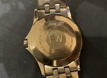 للبيع ساعة ريموند ويل اصلية نظيفة جدا مستعملة بصندوقها وكرتها
