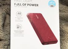 Anker PowerCore Metro Essential 20000 PD -Red Fabric