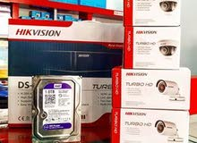بيع وتركيب جميع انواع كاميرات المراقبة
