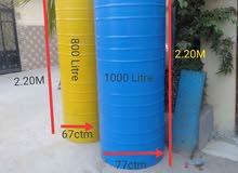 خزانات المياه صالحة للشرب بجوده عاليه وضمان 5