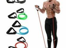 حبال مطاطية لتقوية العضلات