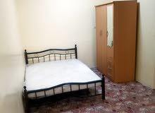 separate room and kitchen and bathroom full finished for rent in sharjah al ghobeba
