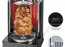 شواية عمودية متعددة الإستعمالات 3في1 للكباب والدجاج وأعواد اللحم تمتع بألذ الأطباق الخالية من الدهون