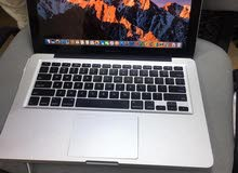 "Apple Macbook Pro 13""  Model MD101, Intel core i5 2.5GHZ Ram 8GB Hard disk 256GB SSD"