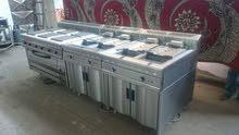 تصنيع معدات و أجهزة و مستلزمات للمطاعم والمطابخ الفندقيه و صيانه وبيع وشراء