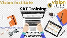 SAT Training at Vision Institute. Call