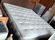 bed with side table for sale