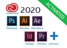 Adobe Creative Products 2020 (Installation + Activated)