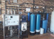 محطة تنقية مياه تعمل بشكل ممتاز وبموقع ممتاز وحيوي للبيع لعدم التفرغ