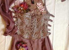 فستان سهرة جديد غير مستعمل للبيع