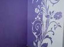 معلم دهان ورسم جداريات وتصميم نوافير ونحت