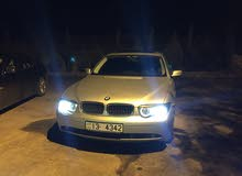 Used BMW 745 for sale in Amman