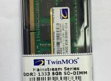 رام لابتوب 8 جيجابايت DDR3