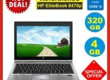 اروع الاسعار/للبيع(LAPTOP HP ELITEBOOK 8470P CORE I5)الحيل التالت