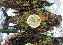 مطعم شمس الضحي للاسماك والأكلات البحريه الطازجه