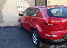 للبيع سيارة كيا سبورتاج 2015