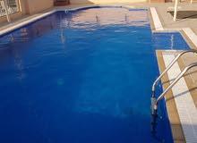 2 Rooms, Big Hall, Swimming Pool + GYM (Inclusive) + EWA
