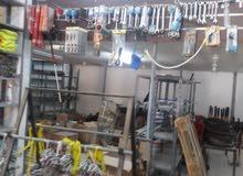 محل معدات ورش للبيع بضاع جديده