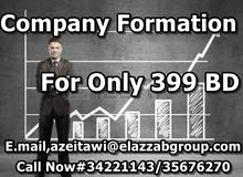 For Company formation