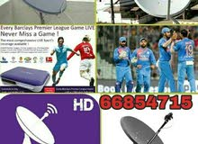 I do any satellite dish tv work & Dish, receiver sell. your need installation, j