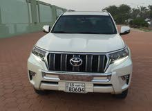 2018  Prado with  transmission is available for sale