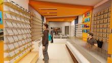 تجهيز المحلات التجارية بالديكورات والكبتات بأقل سعر