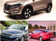سيارات 2017 للأيجار  (((  الشهري ))) فقط