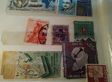 طوابع بريد منذ الخمسينيات
