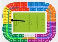 تذكرة مباراة برشلونة و أتلتيكو مدريد مربع 127 للبيع
