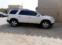 White GMC Acadia 2007 for sale
