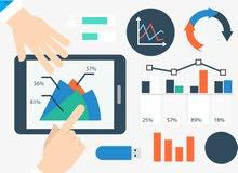 محاسب ومدقق حسابات - خبرة في الادارة المالية