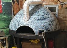 فرن بيتزا إيطالي من الطوب الحراري