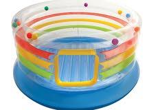لعبة القفز للأطفال مع منفاخ هواء يدوي Intex 48264