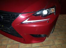 Maroon Lexus IS 2014 for sale