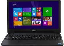 لابتوب  Dell Inspiron15 - 3521  نظافة 99% مستعمل مع الكارتونة للبيع مع اربع هاردات خارجية نوع ADATA